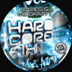 DJ Davies and MC Skatty – Hardcore Fix Vol One artwork