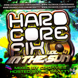 DJ Davies and MC Skatty – Hardcore Fix Vol Four (Hardcore Fix In The Sun) artwork
