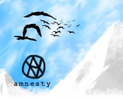 Asylum Voyage – Amnesty artwork