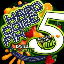 DJ Davies and MC Skatty – Hardcore Fix Vol Five (Keeping The Vibe Alive) artwork