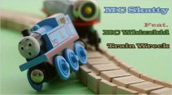 MC Skatty and MC Whizzkid – Trainwreck artwork