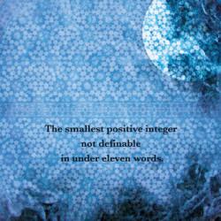 Technikiller – The Smallest Positive Integer Not Definable in Under Eleven Words artwork