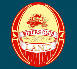 Miners Club – LAND artwork