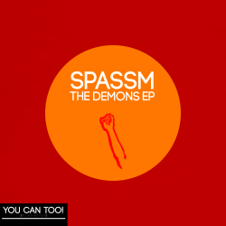 Spassm with Ant Mas – Demons EP artwork