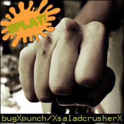 bugXpunch and XsaladcrusherX – Splat! artwork