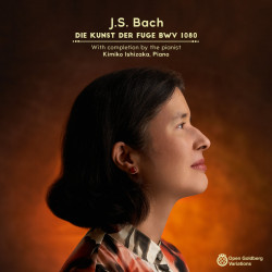 Kimiko Ishizaka – J.S. Bach: The Art of the Fugue (Kunst der Fuge), BWV 1080 artwork