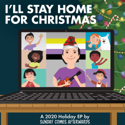 Sunday Comes Afterwards – I'll Stay Home for Christmas artwork
